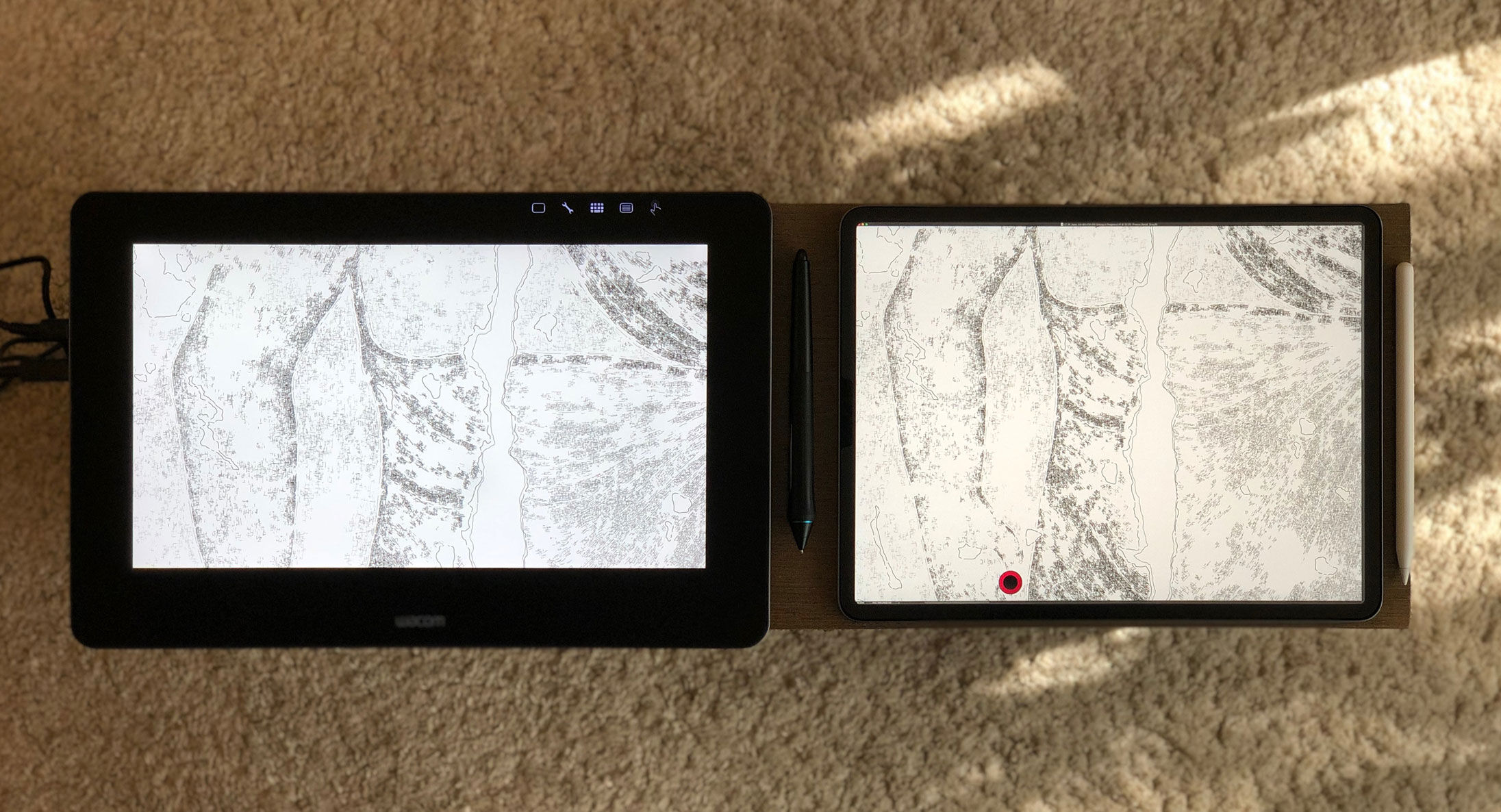 The drawing display that wanted to be a tablet - Wacom