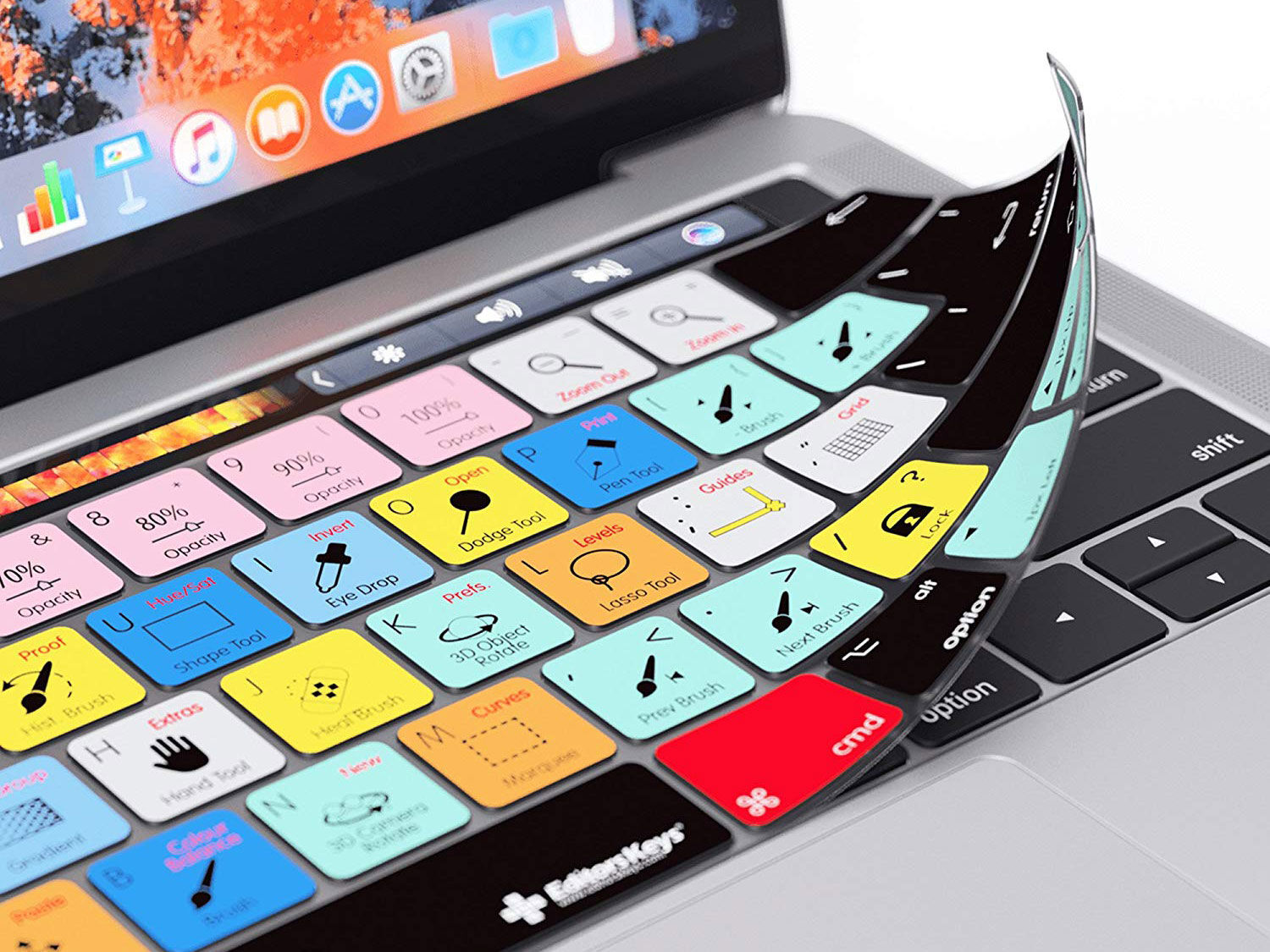 Photoshop One-on-one – Essential keyboard shortcuts that