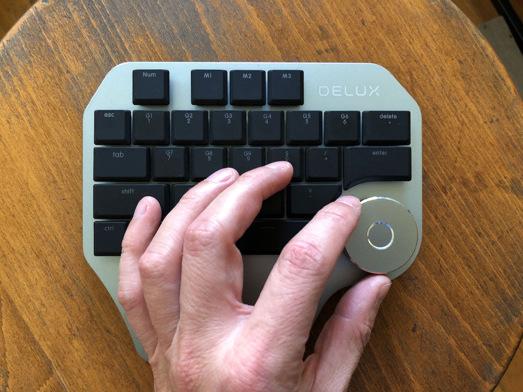 Where is the other half of my keyboard? - Delux T11 Designer Keypad