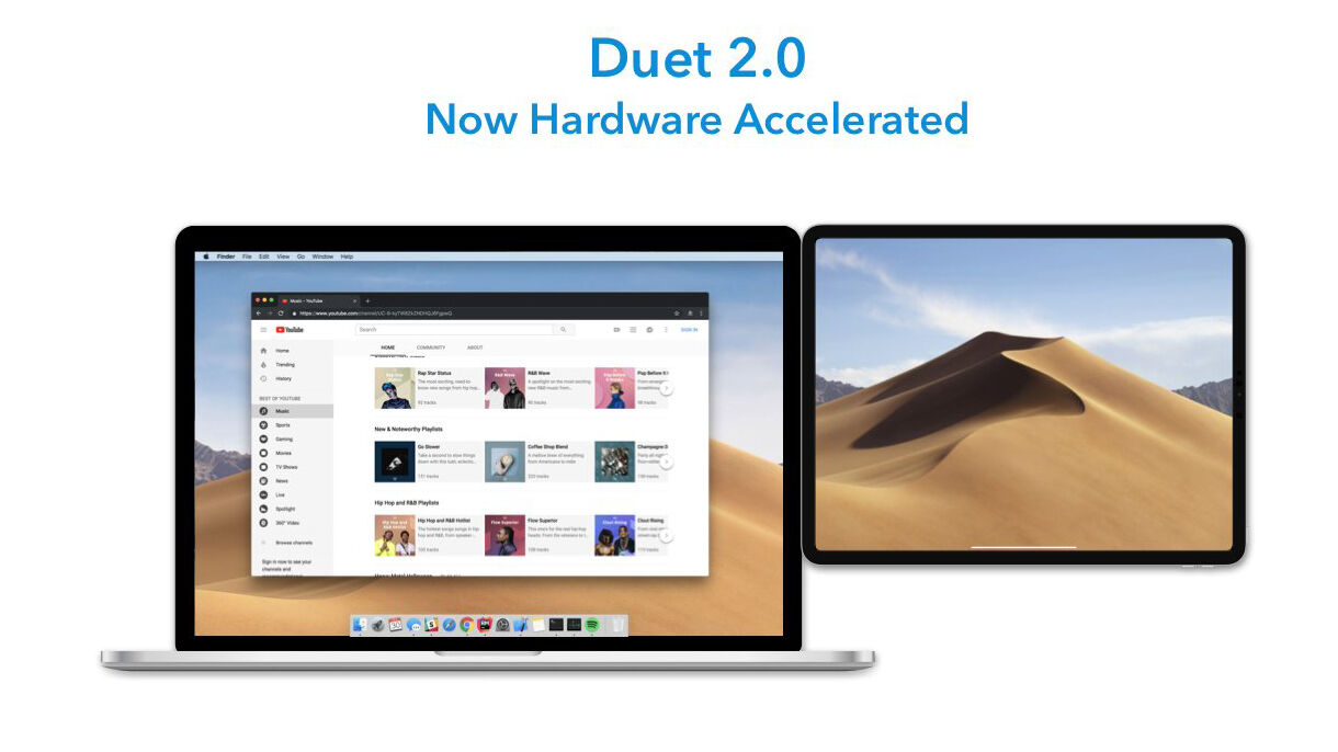 Duet claims that with Duet Display 2 PC users can finally