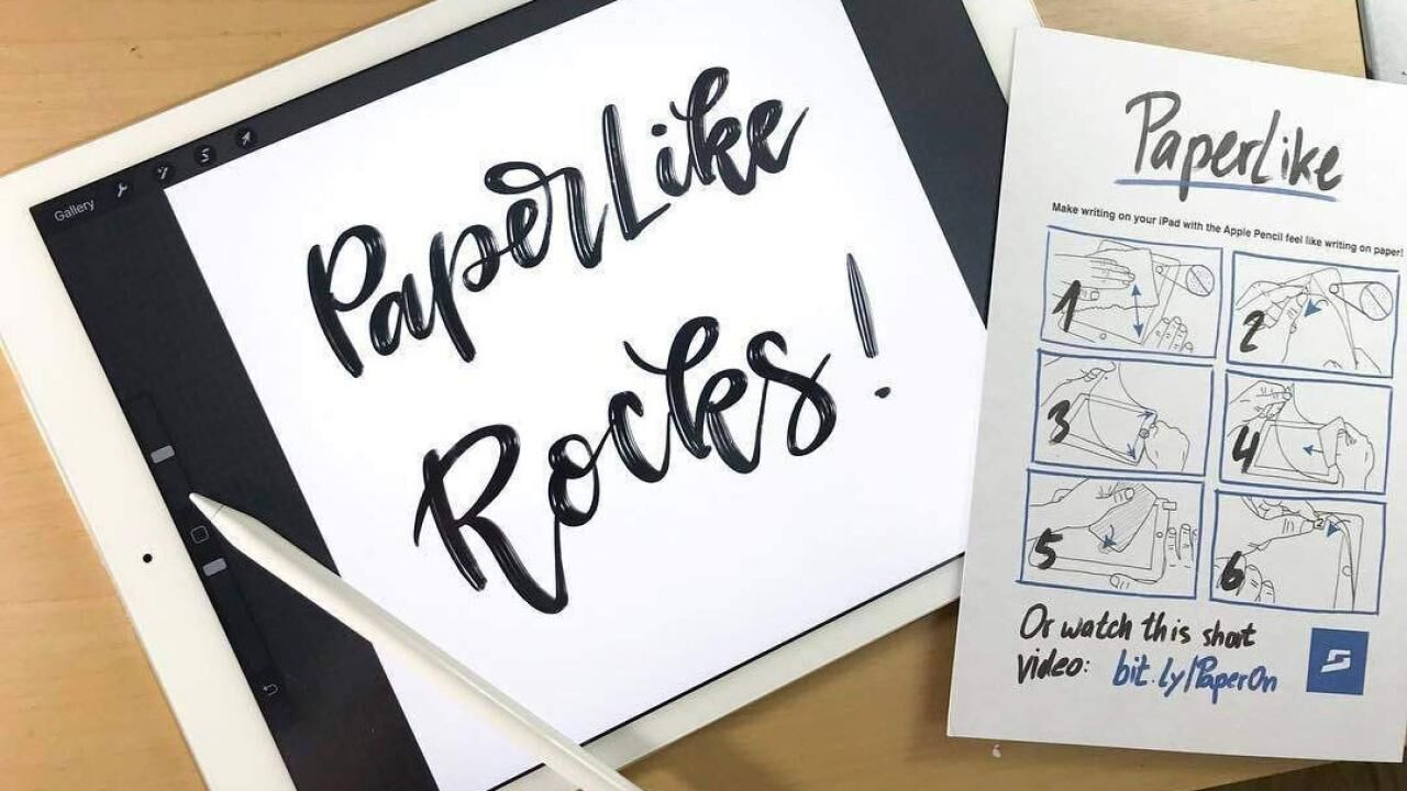 PaperLike is the best iPad screen protector for digital artists