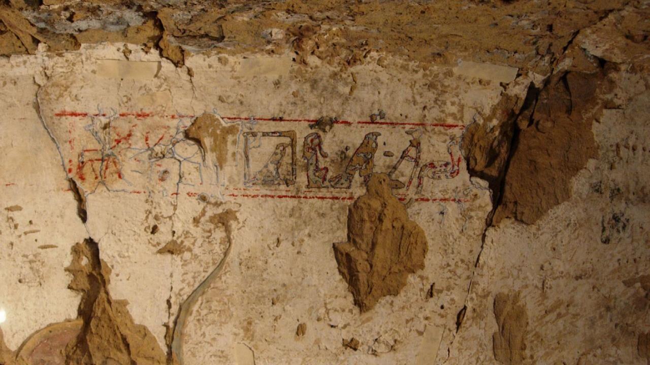 The Tomb of Sataimau at Hagr Edfu