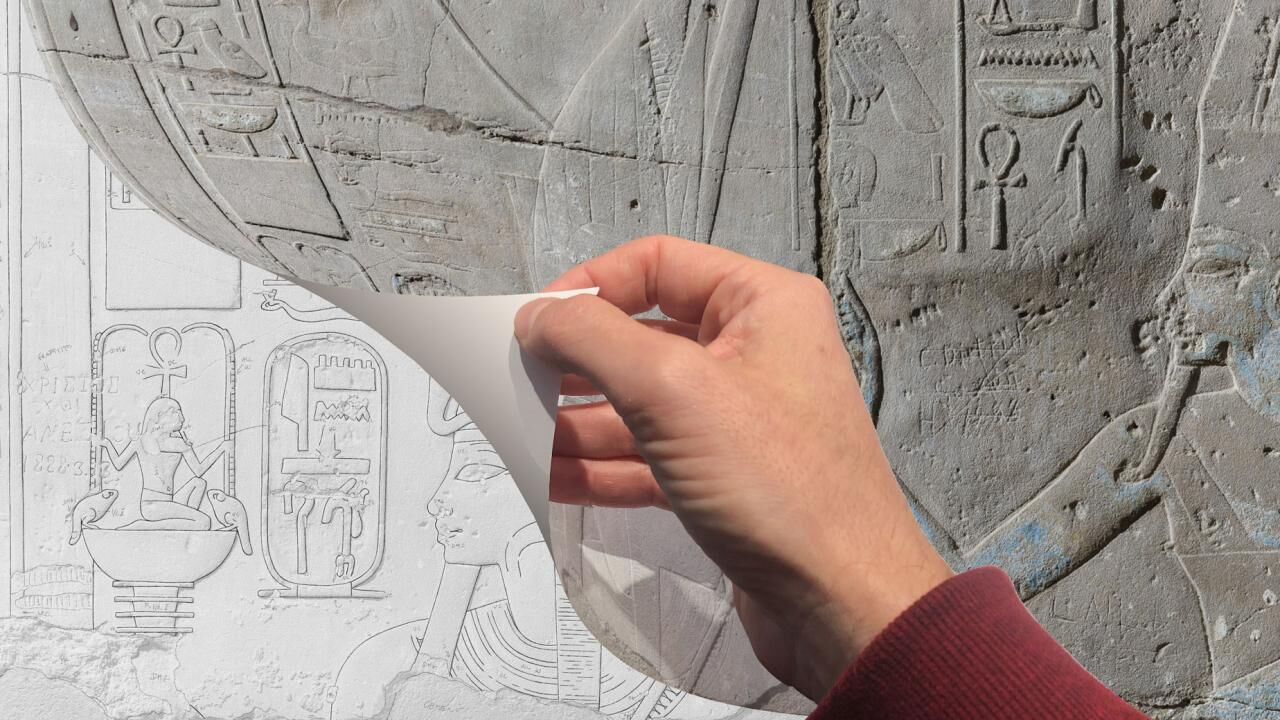 "Documenting the Amenhotep III wall scene LD177 at Luxor temple (Part 1) – digital ""penciling"" and the updated digital Chicago method"