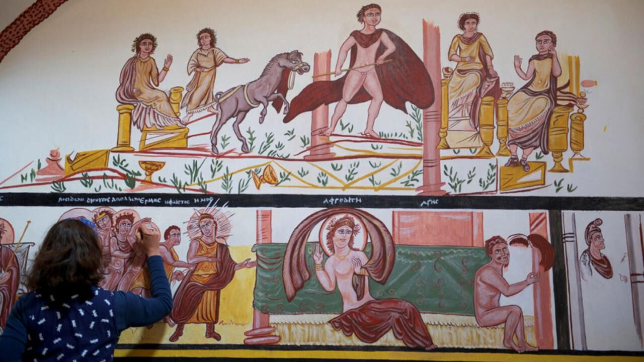 Reconstructing the Villa of Serenus at Amheida