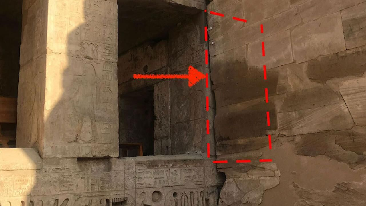 Combining digital and traditional inking methods on MHB 122, an obscured scene at the Small Amun Temple in Medinet Habu