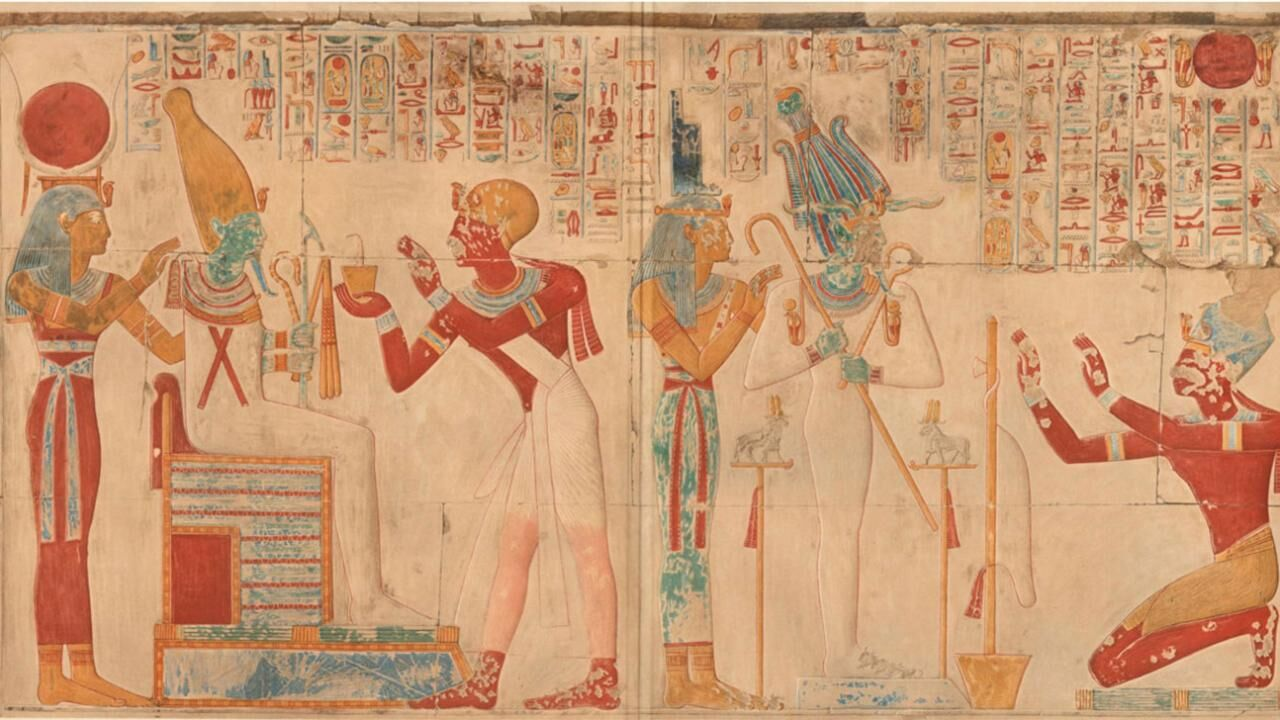 The Temple of King Sethos I at Abydos - Amice Calverley's Record of the Temple of Seti I