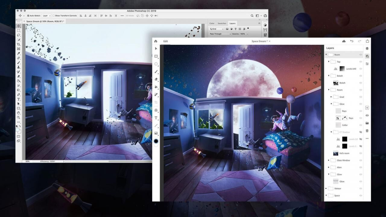 Adobe accepting applications to beta test Photoshop CC on iPad, but there is still no mention of release date yet