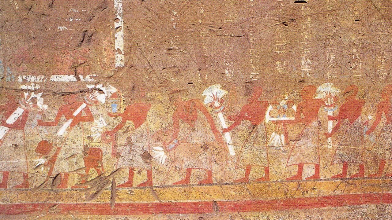 The Tomb of Pay and Raia at Saqqara