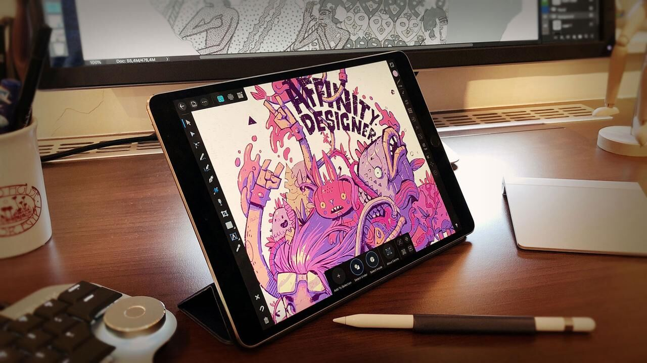 Affinity Designer Finally Arrives to the iPad