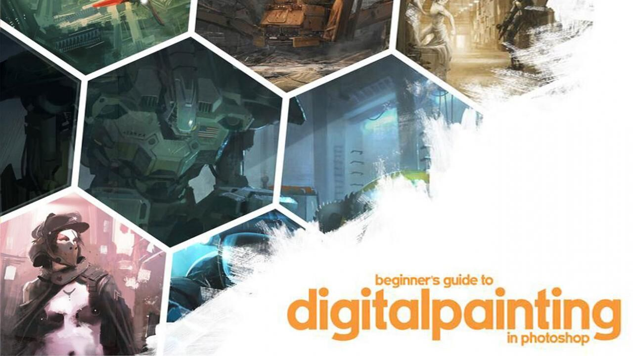 Beginner's Guide to Digital Painting in Photoshop by Nykolai Aleksander and Richard Tilbury
