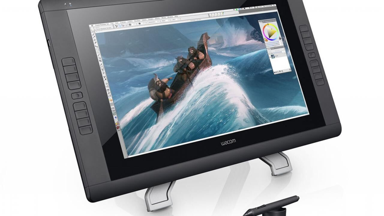 Chapter 3, Section 3 - Setting Up the Wacom Tablet