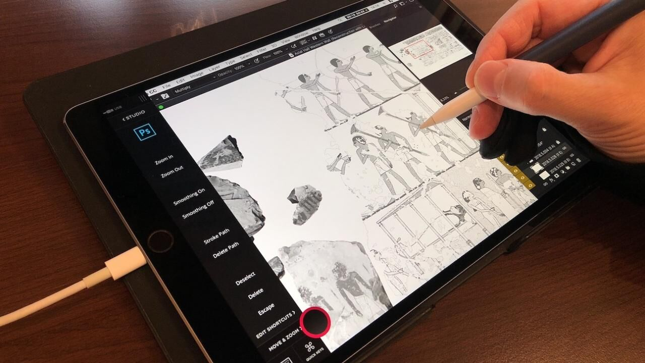 Having an iPad Pro and Astropad Studio you may never need to invest in a Wacom tablet