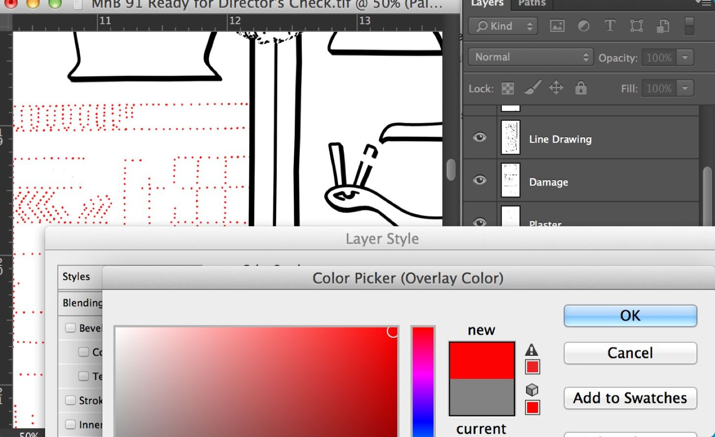Creating Digital Paint Sheets