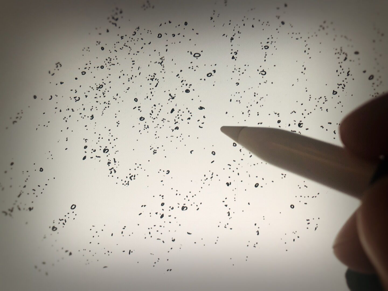 Creating custom plaster patterns for digital inking