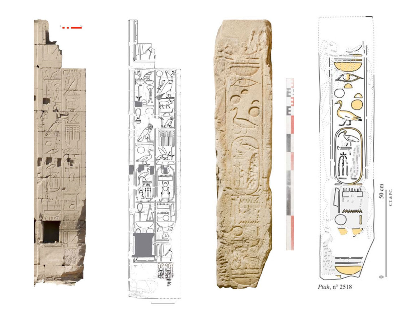 Damage treatment variants in epigraphic documentation