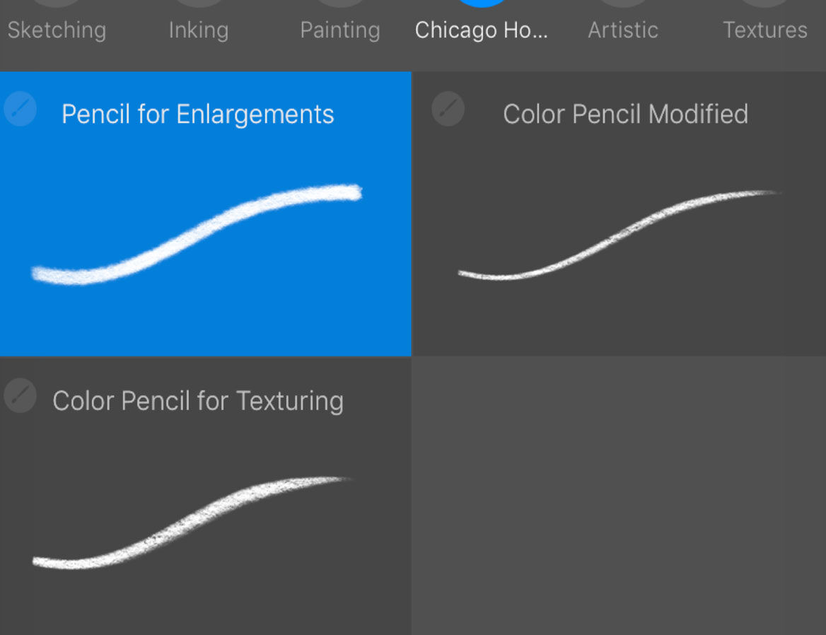 Procreate's basic features