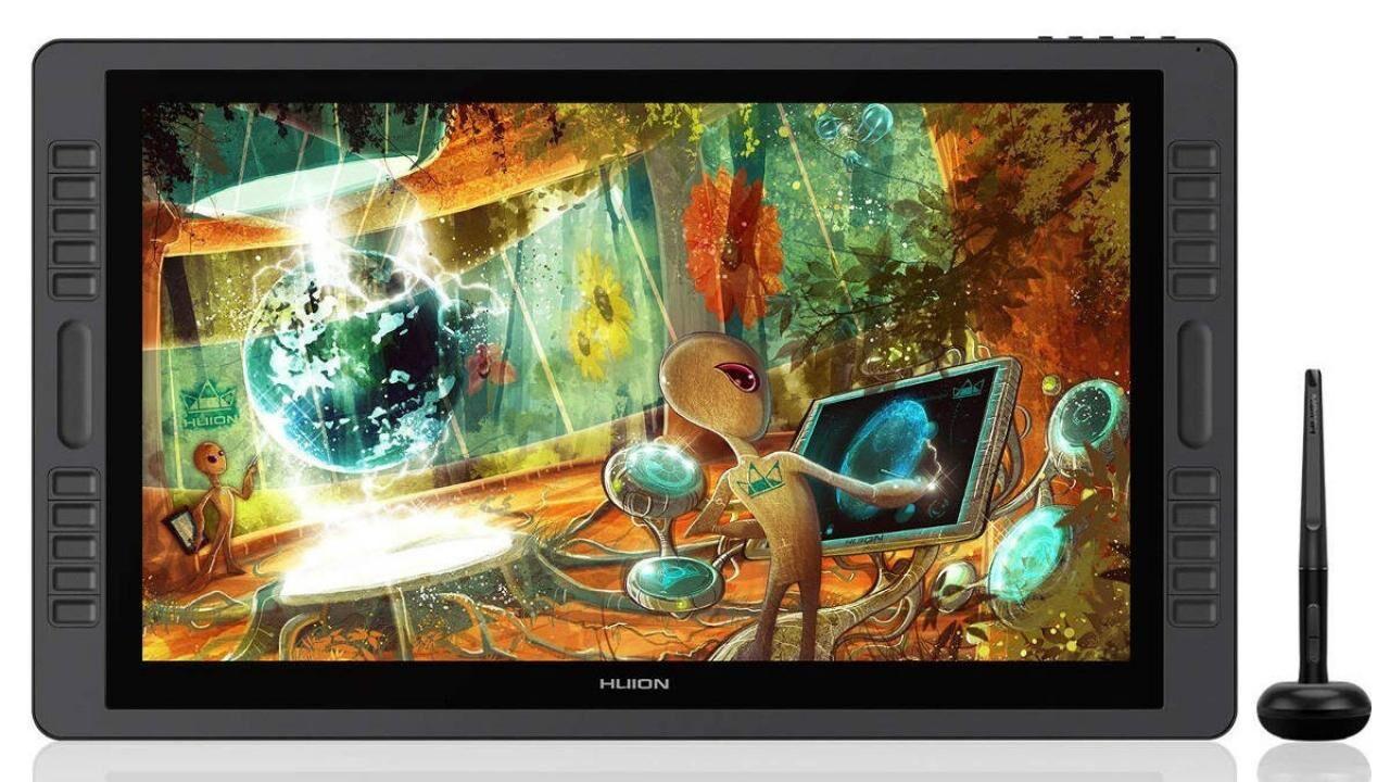 Budget Wacom drawing display alternatives for digital artists Part 1 – Huion Kamvas Pro tablet monitors