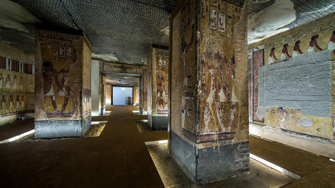 Scanning Seti - The regeneration of a pharaonic tomb by Factum Arte and the Factum Foundation for Digital Technology in Conservation
