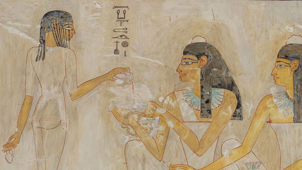 The Tomb of Rekhmire (TT100) - facsimile paintings by Nina de Garis Davies