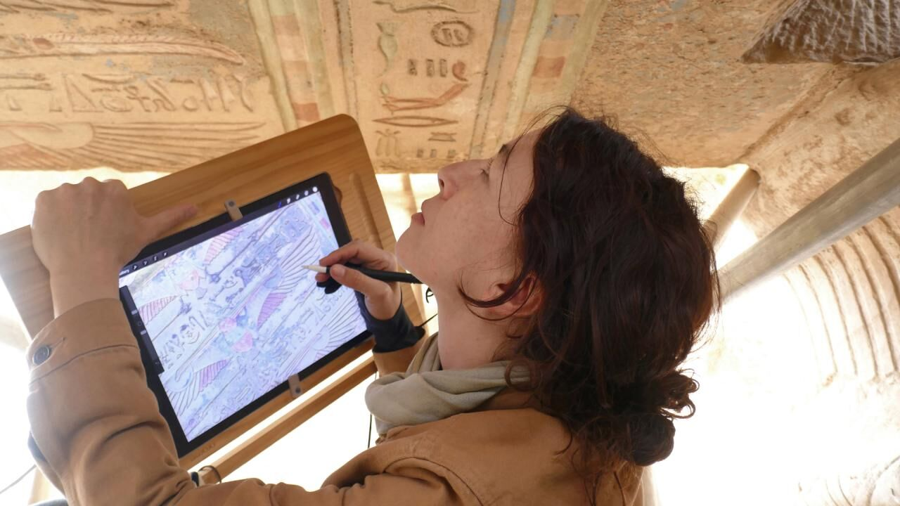 Star Gazing: Digitally Drawing the Bark Shrine Ceiling of the Small Amun Temple