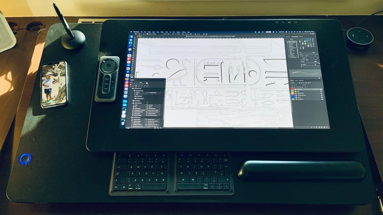Get on Your Feet and Keep Drawing with the OGAWA Leband Electric Sit-Stand Desk Converter