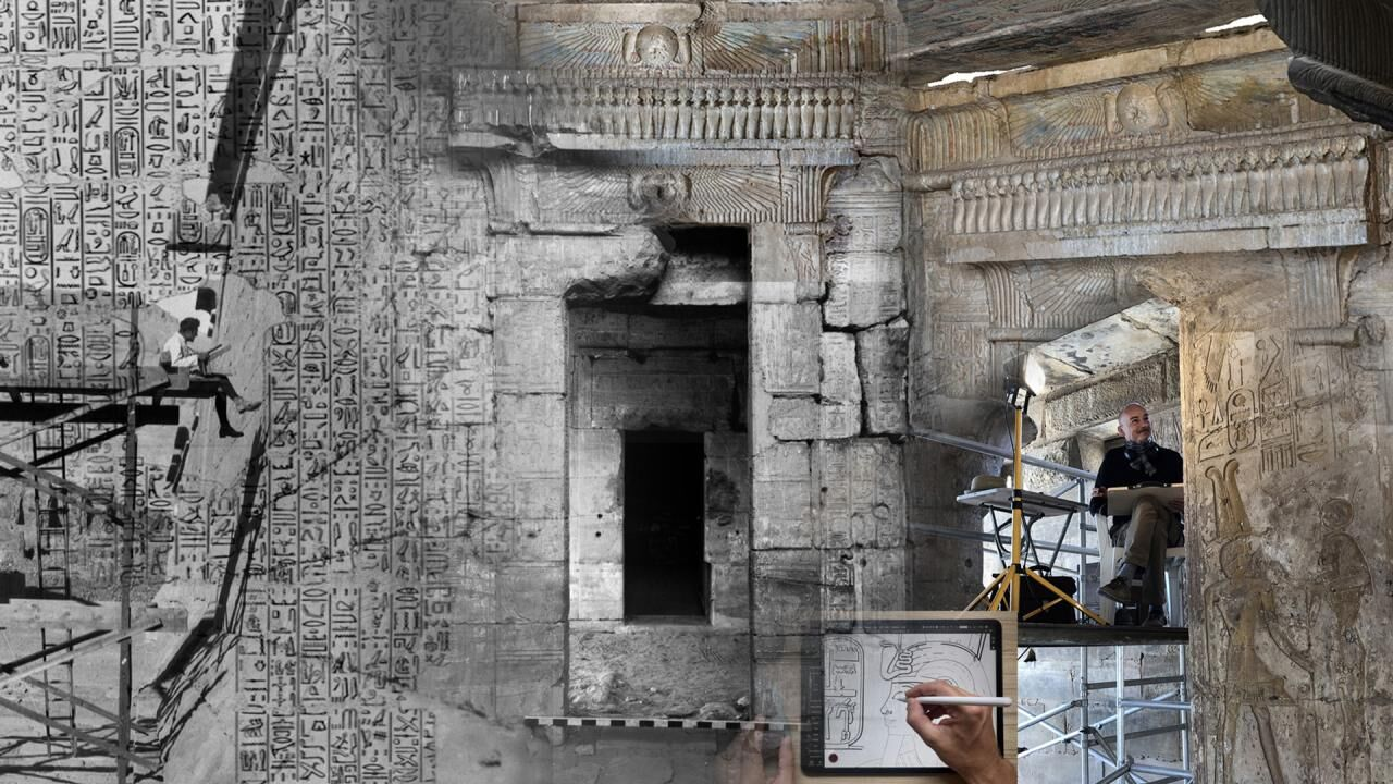 Documenting the Amenhotep III Wall Scene LD177 at Luxor Temple (Part 4) - From Model Creation to Presentation