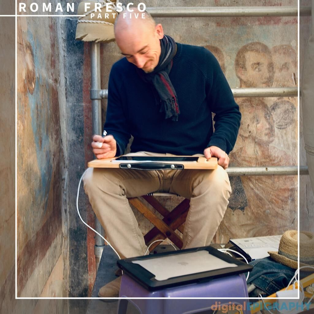 instagram-gallery/Astropad Studio Functioning as a Bridge Between Tablet and Laptop While Documenting the Late-Roman Murals at Luxor Temple