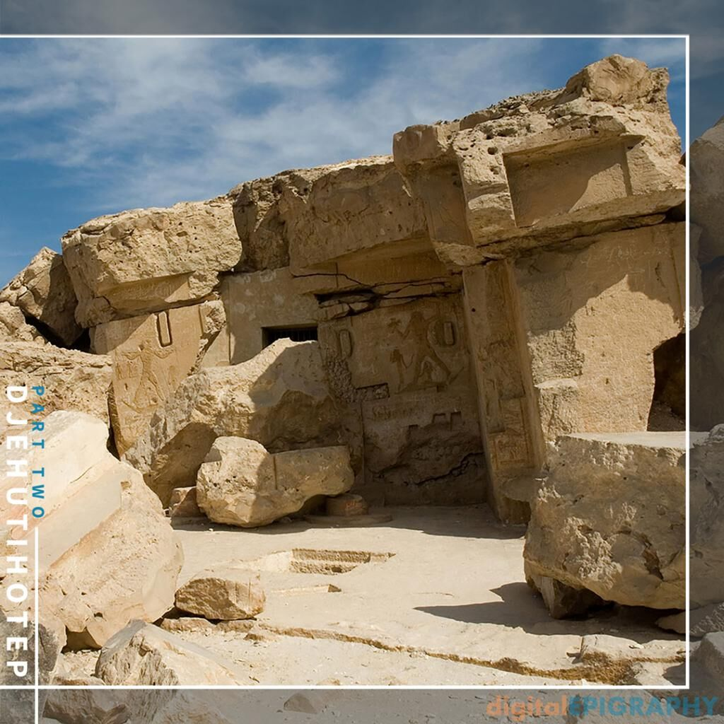 instagram-gallery/The North Hill of Dayr al-Barsha with the Tomb Entrance of Djehutihotep