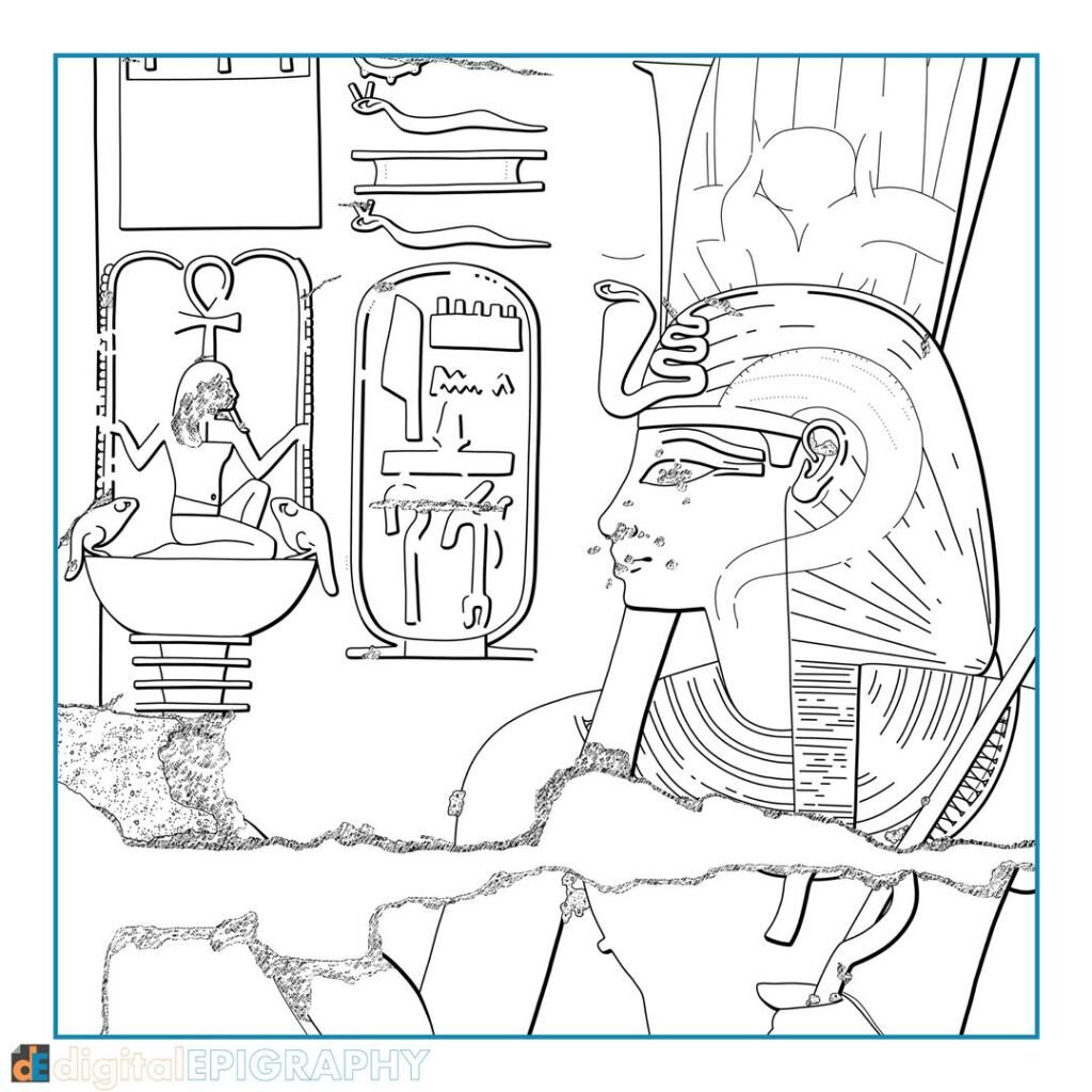 instagram-gallery/Digitally inked drawing created for testing the Survey's digital Chicago House Method at Luxor Temple