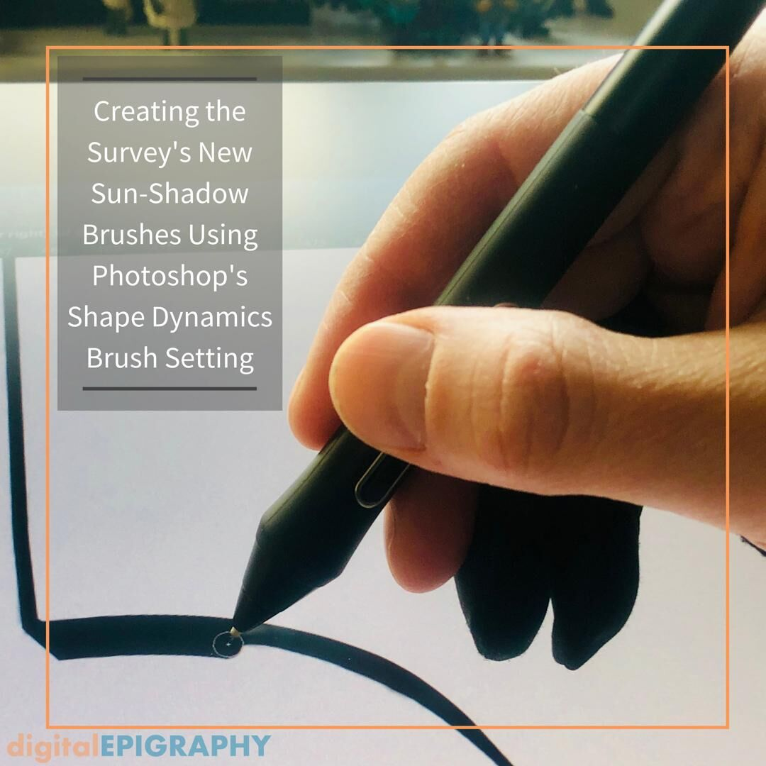 Creating the Survey's New Sun-Shadow Brushes Using Photoshop's Shape Dynamics Brush Setting