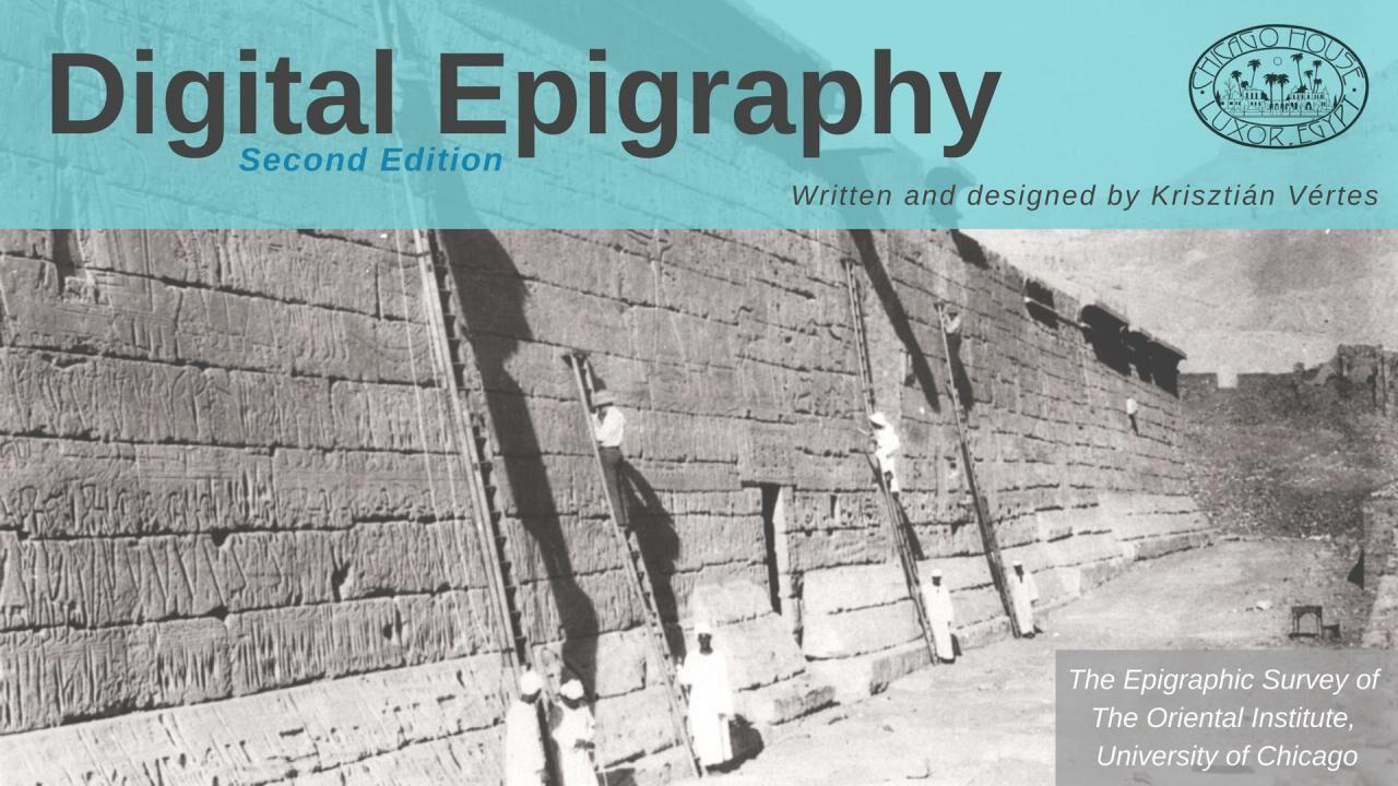 Digital Epigraphy (Second Edition)