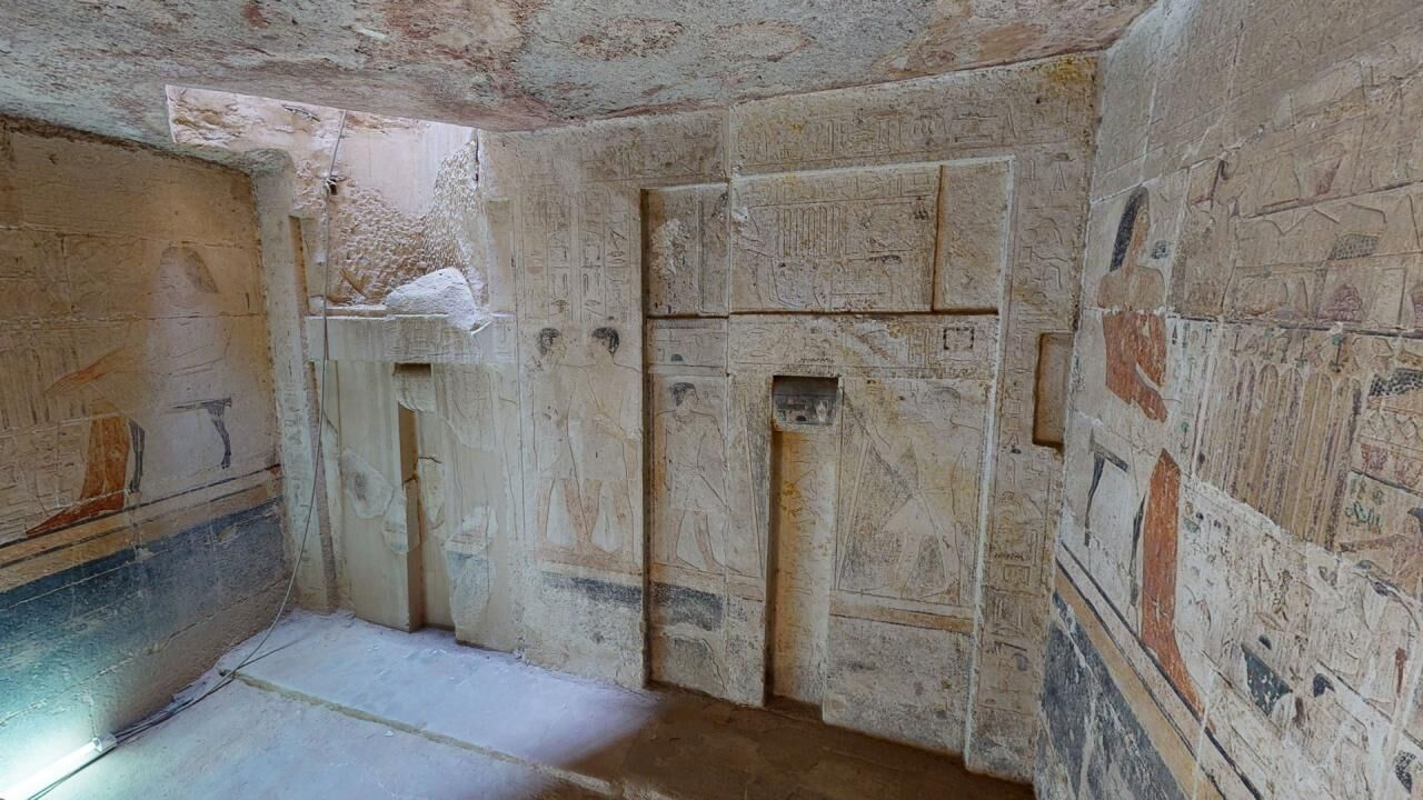 Tomb of the Two Brothers – A 3D tour of the tomb of Niankhkhnum and Khnumhotep