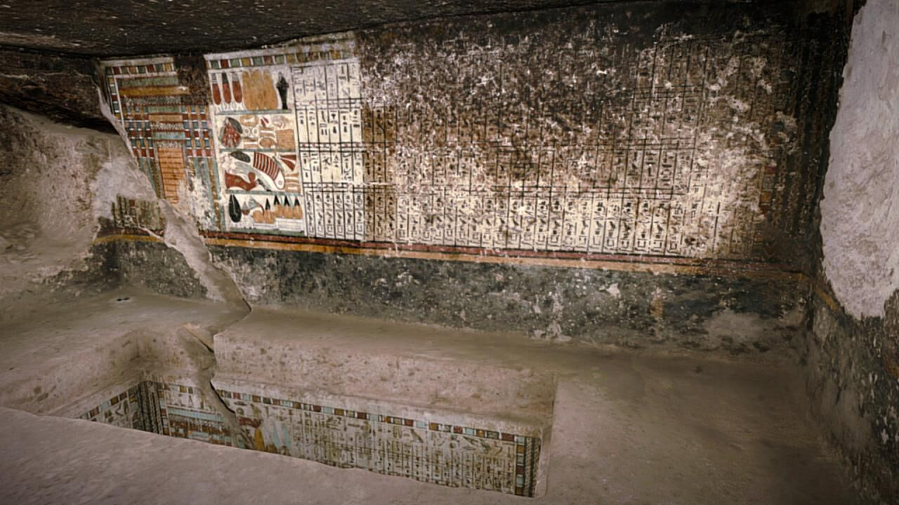 The Tomb of Meru (TT 240), a High Official of the Early Middle Kingdom, as Presented on Sketchfab