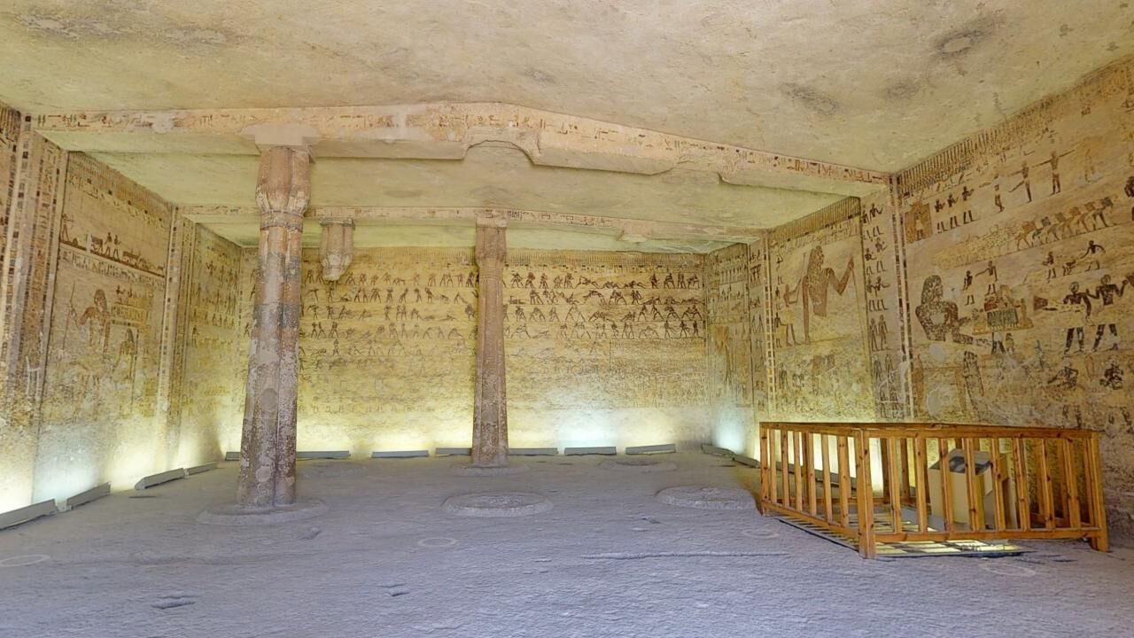 A Virtual Tour of the Middle Kingdom Tomb of Khety (BH 17) at Beni Hassan