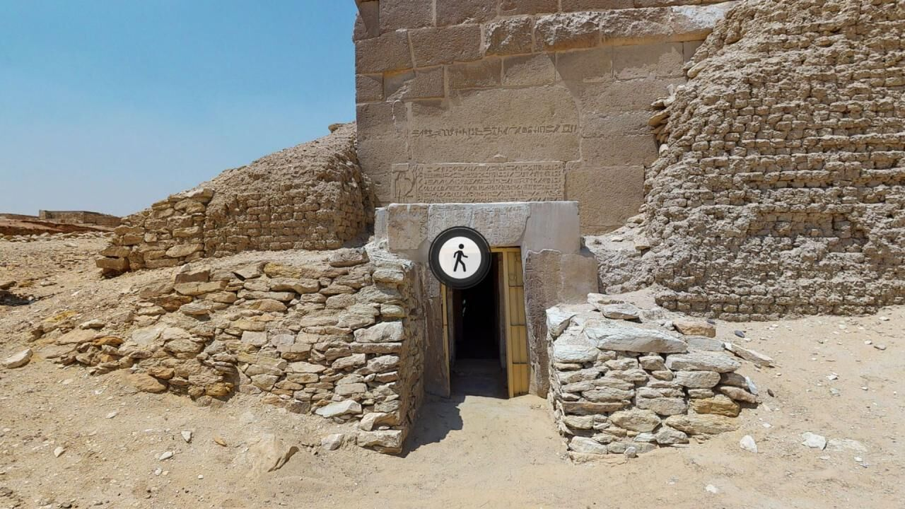 The Tomb of Mehu – A virtual 3D tour through the tomb, supplemented by models of its Entry Corridor and Offering Chapels
