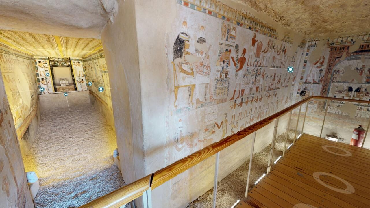 The Tomb of Menna (TT 69) – Virtual tours of an exquisitely painted New Kingdom private tomb at Sheikh Abd Al-Qurna