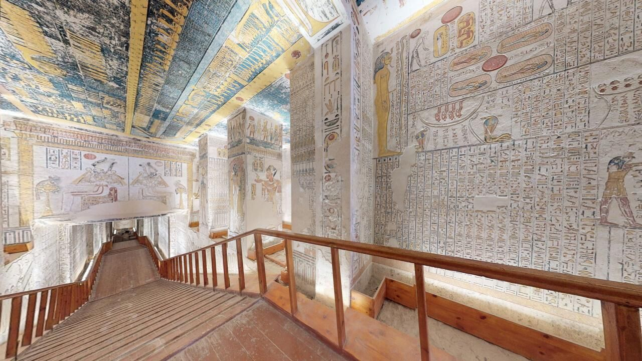 Tomb of Ramses VI – A virtual tour through one of the most exquisitely decorated tombs in the Valley of the Kings