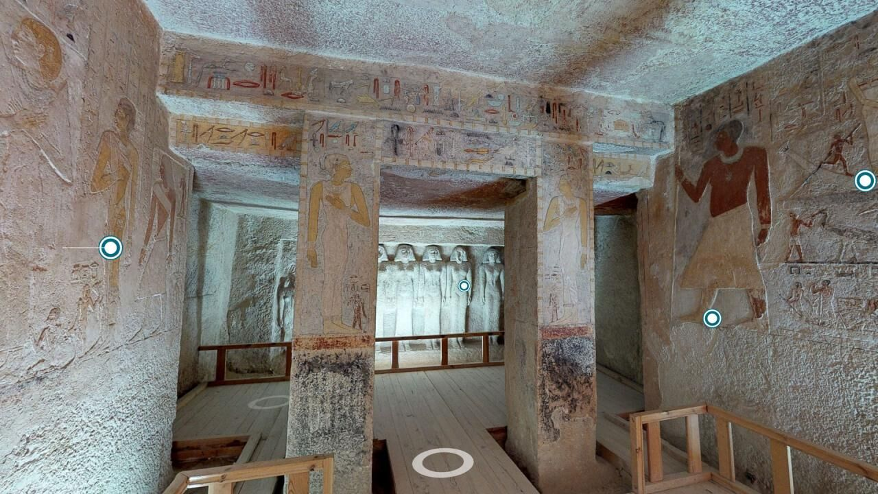 Tomb of Queen Meresankh III – A 3D tour through the Old Kingdom mastaba at Giza