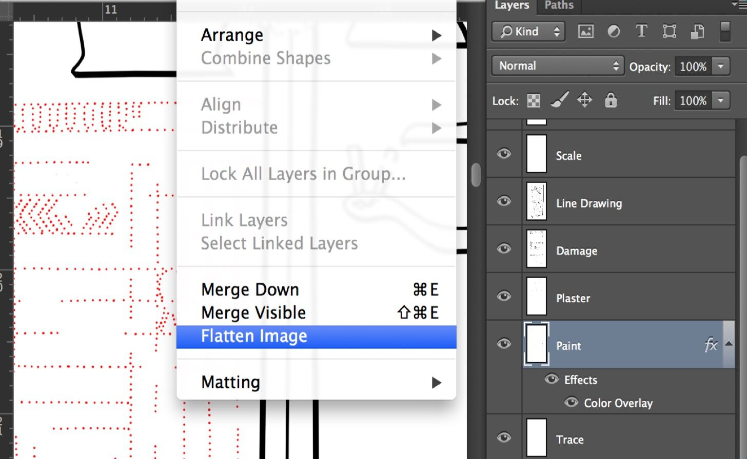 Creating Digital Paint Sheets