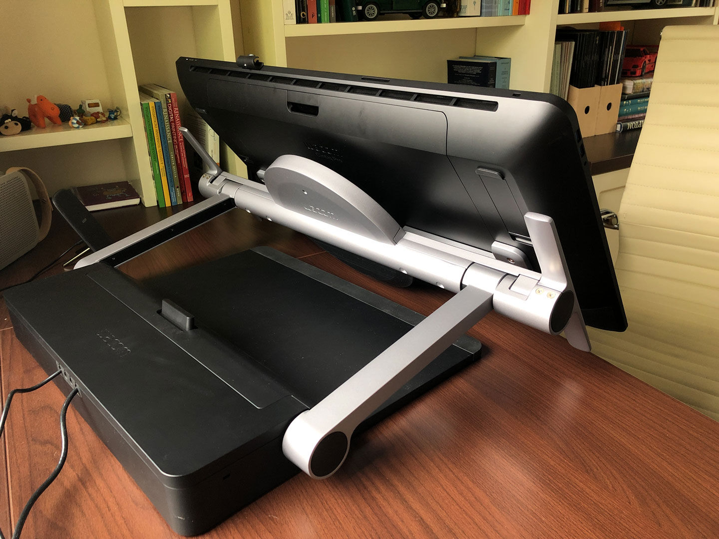 Positioning the XP-PEN Artist Pro 24 on your desk
