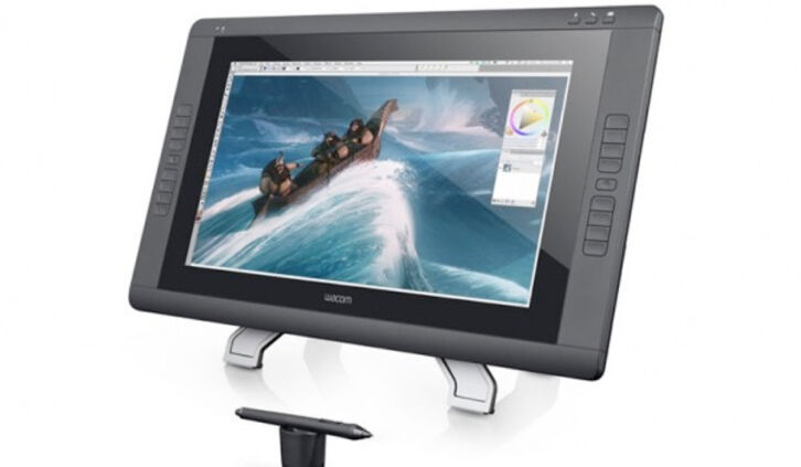 The Wacom Cintiq 22 HD - Important features for the artist