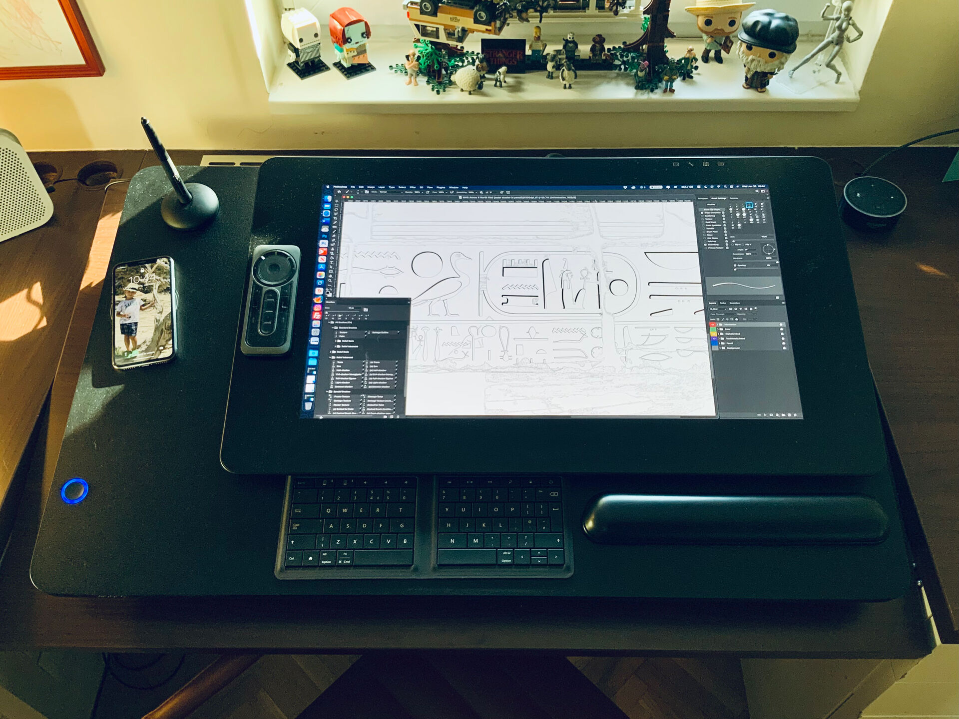 The Leband Electric Sit-Stand Desk Converter