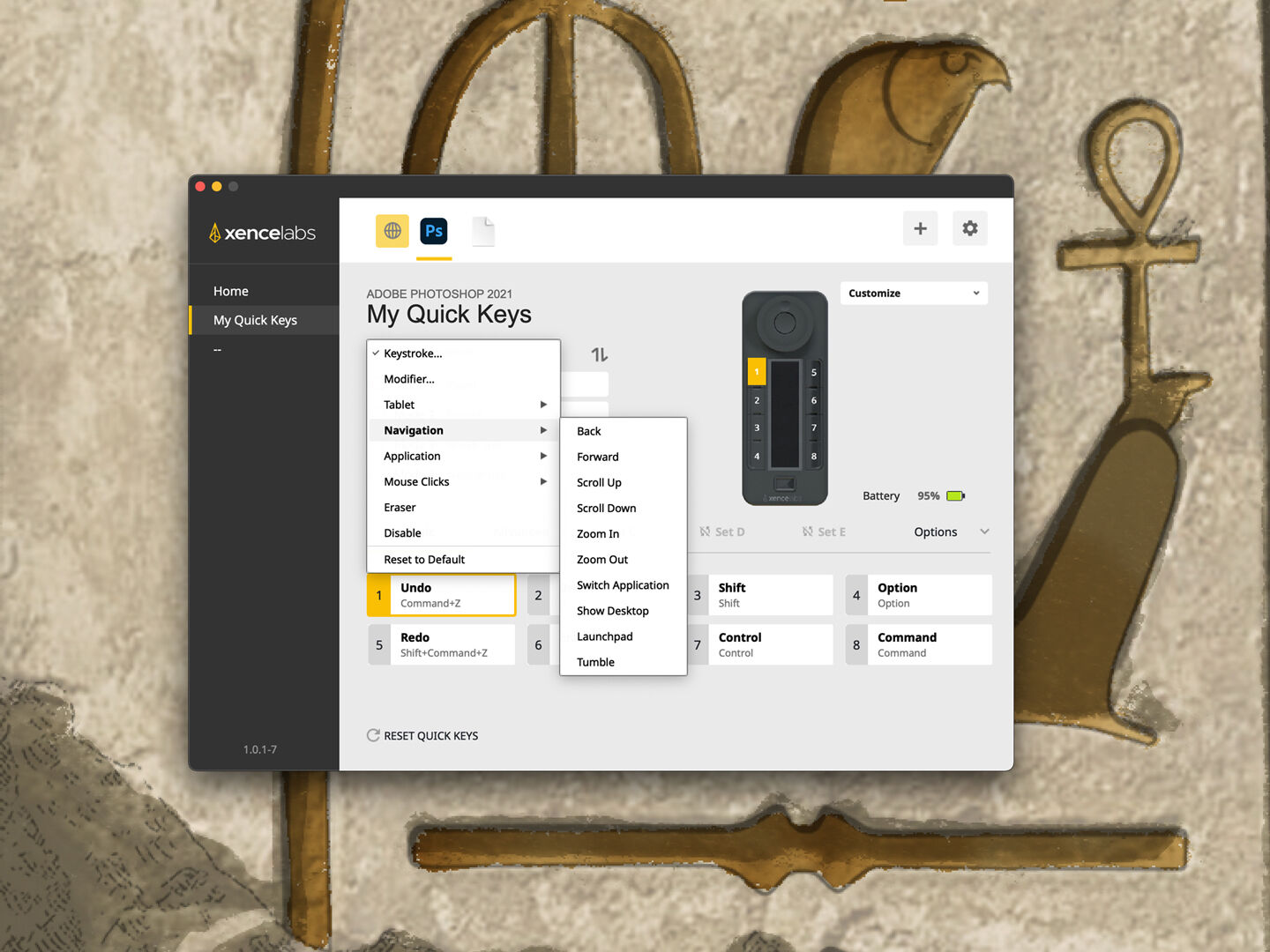 Customizing the Xencelabs Quick Keys Remote
