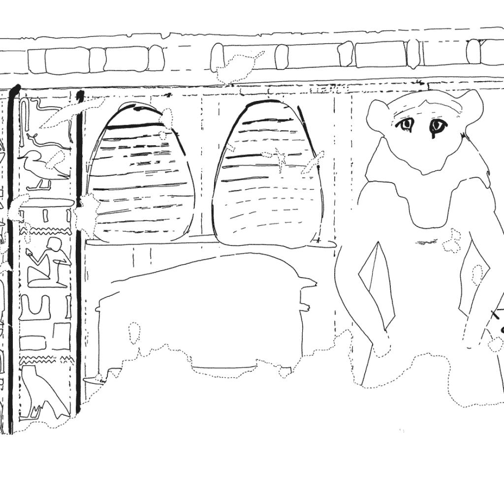 Tomb of Senneferi (TT 99), Wall painting