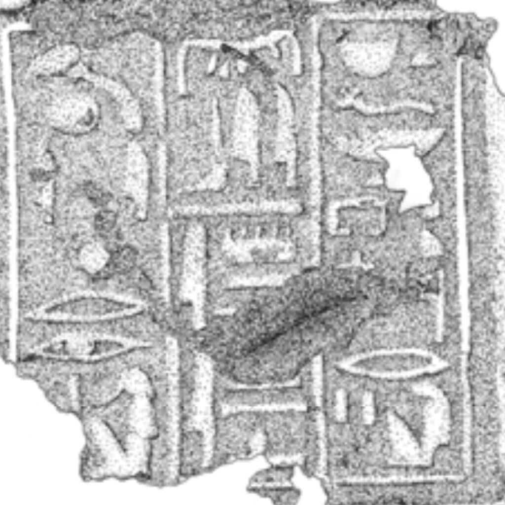 Tomb of the High Priest of Amun Amenhotep at Dra Abu el-Naga (K93.12), Funerary cone