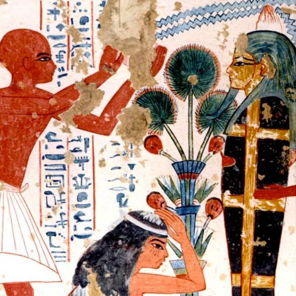 Tomb of Nebamun and Ipuky (TT 181), Wall painting, color presentation